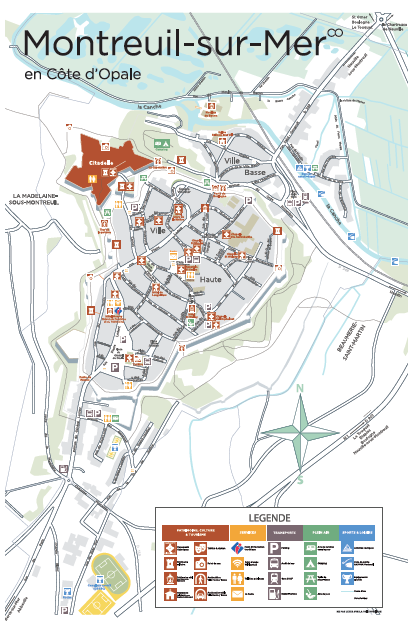 Plan Montreuil-sur-mer